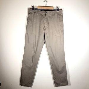 Gap Khakis Tailored Slim Fit Pants
